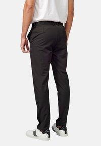 Koroshi - PANTALON LARGO - Pantalones chinos - black - 5