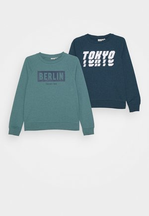 NKMVION 2PACK - Sweatshirt - gibraltar sea/trellis
