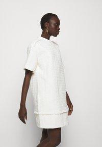 Proenza Schouler White Label - TEXTURED DRESS - Kjole - white - 5