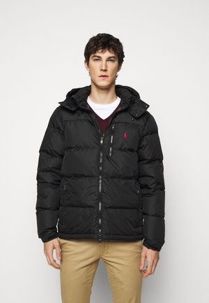 RECYCLED CAP JACKET - Down jacket - polo black