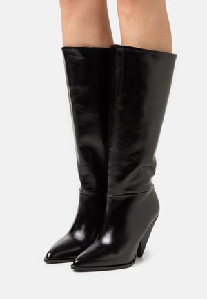 EXCLUSIVE BOOT - Boots - black