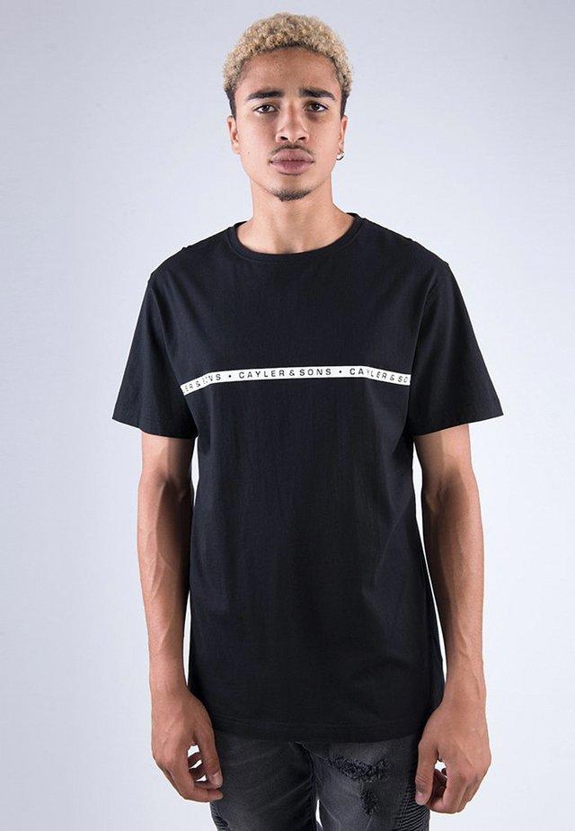 BANDANARAMA TEE - T-shirt imprimé - blk/wht