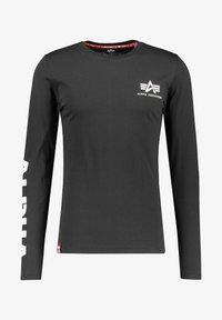 Alpha Industries - Long sleeved top - schwarz - 0