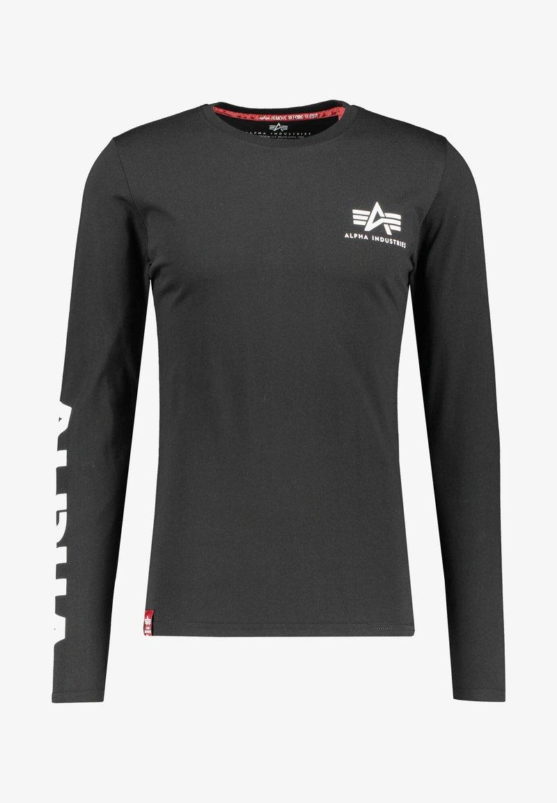 Alpha Industries - Long sleeved top - schwarz