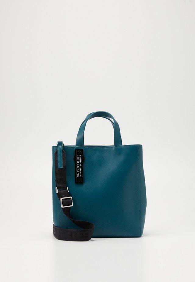 Handbag - dragonfly petrol