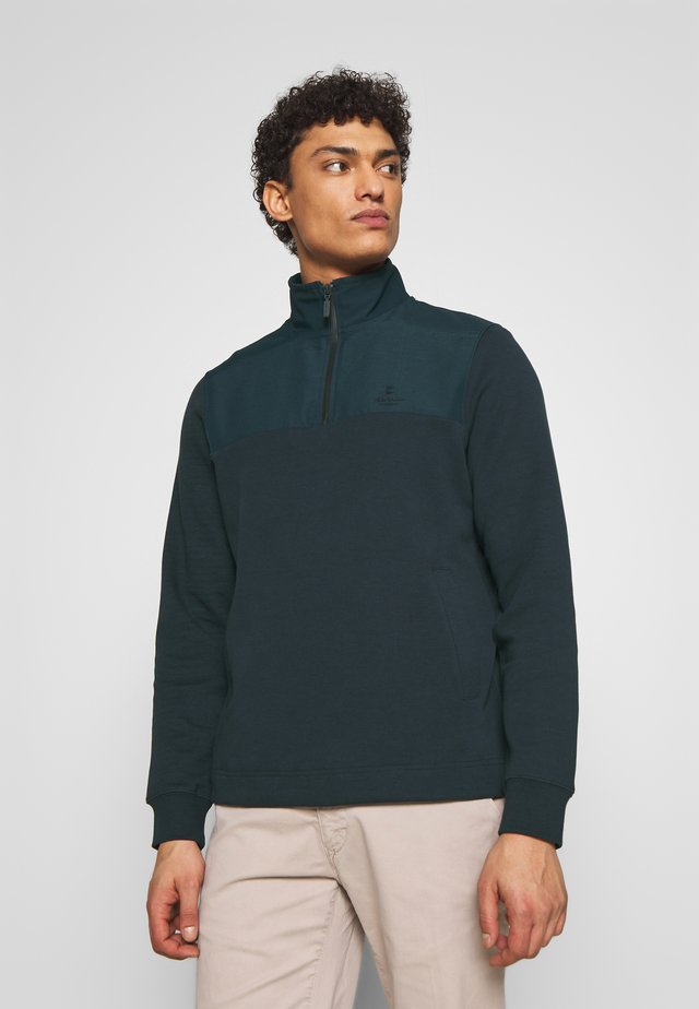 CETUS HALF ZIP - Sweater - navy