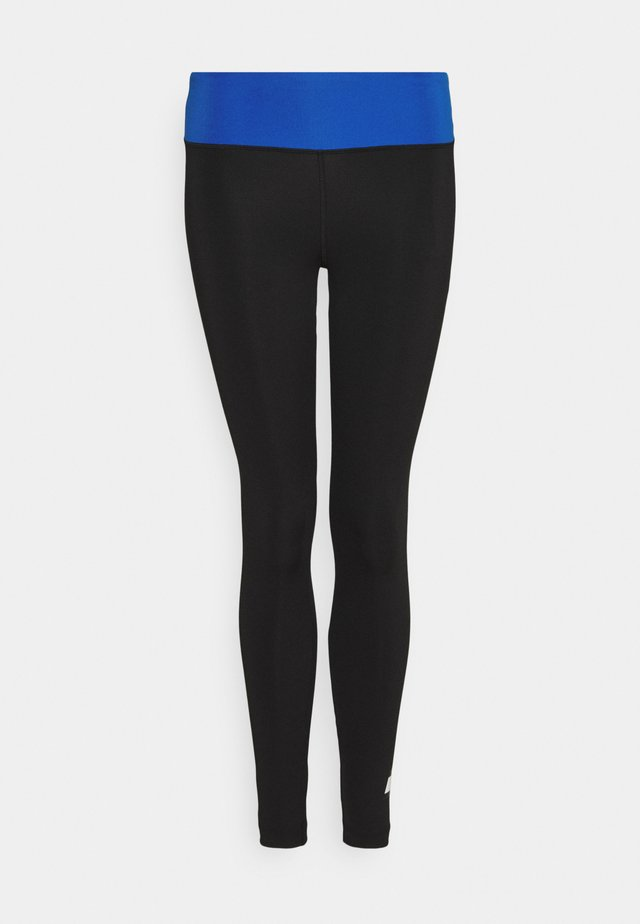FULL LENGTH LEGGING LOGO - Punčochy - black