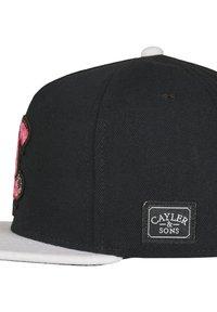Cayler & Sons - CAYLER & SONS ACCESSOIRES C&S WL MUNCHEL CAP - Cap - black/white - 2