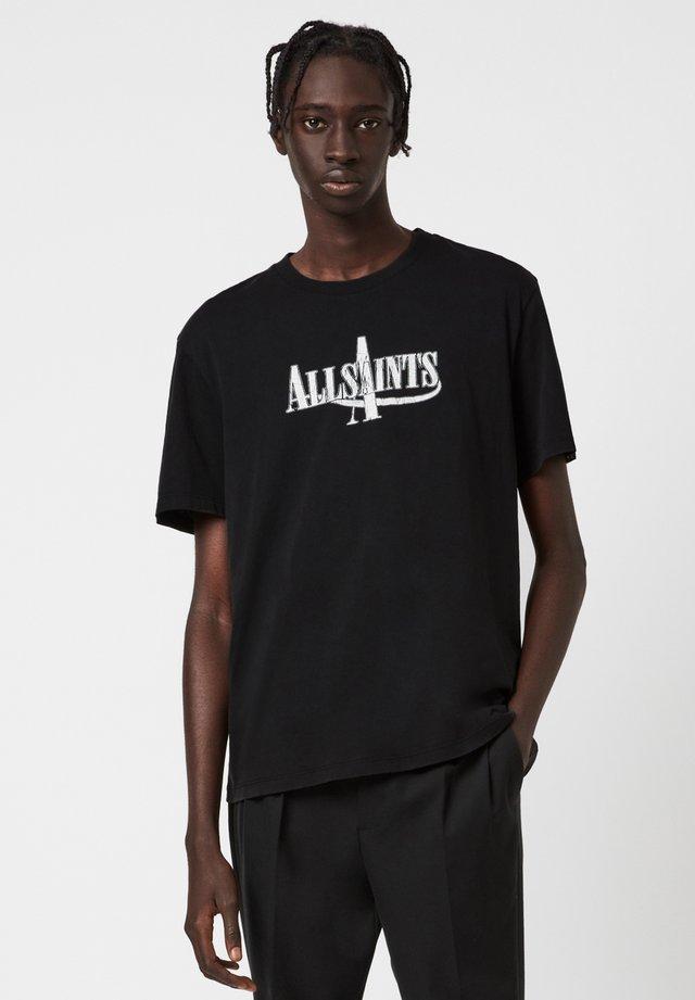 MOTO - T-shirt z nadrukiem - black
