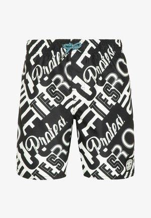 Swimming shorts - true black