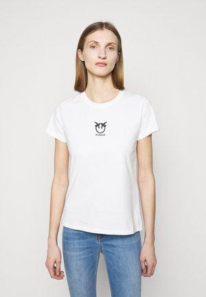 BUSSOLANO  - Print T-shirt - white