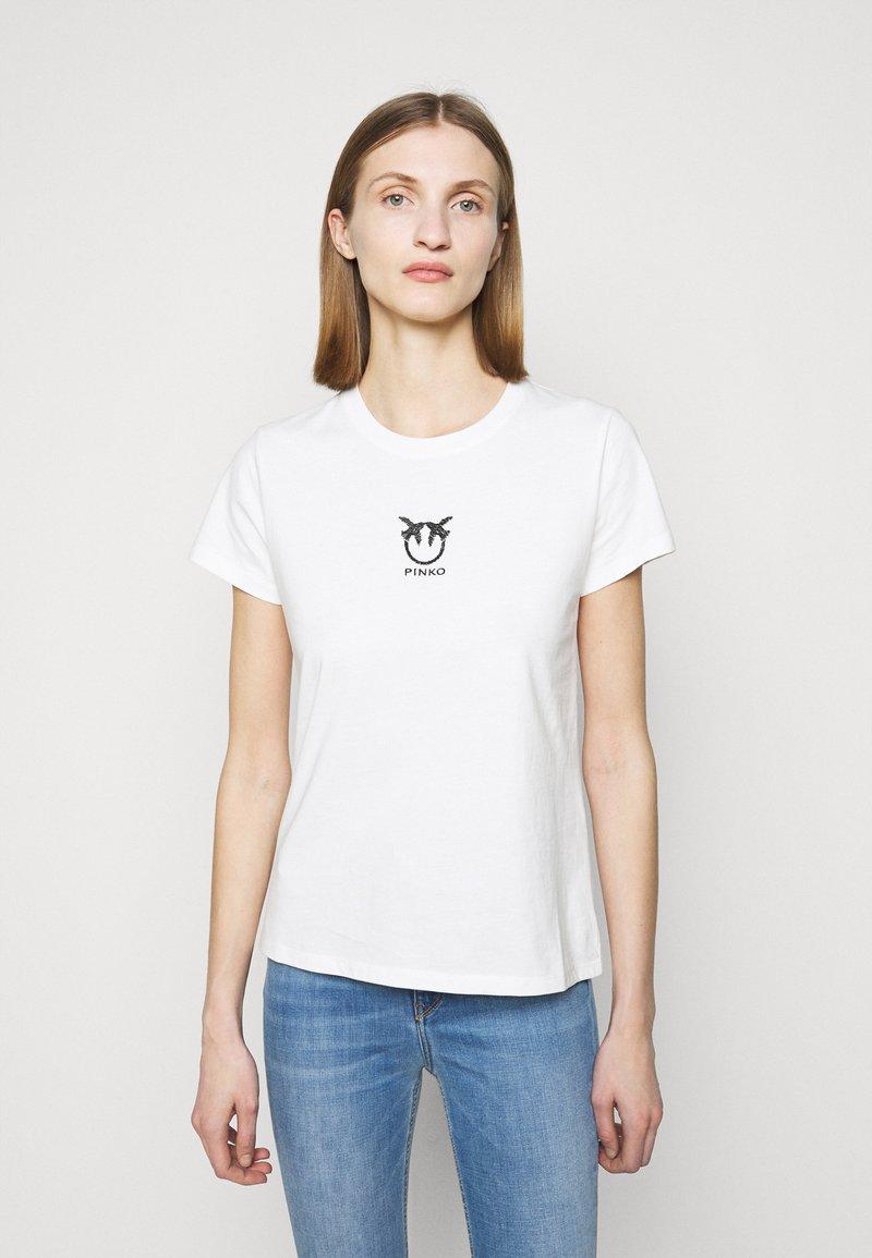 Pinko - BUSSOLANO  - T-shirt imprimé - white