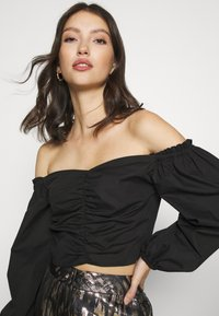 Miss Selfridge - BARDOT - Blouse - black