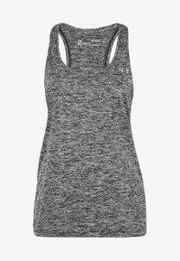 Under Armour - TECH TWIST TRAININGSTANK DAMEN - Sports shirt - black - 0