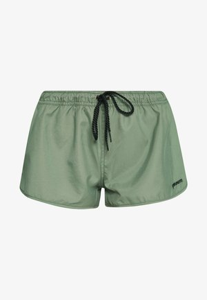 GLENNIS WOMEN - Swimming shorts - vintage green