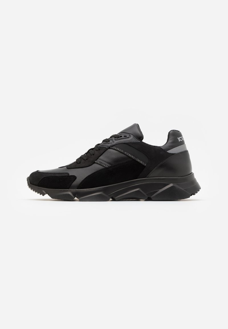 Iceberg - CITY RUN - Sneakers basse - urban black