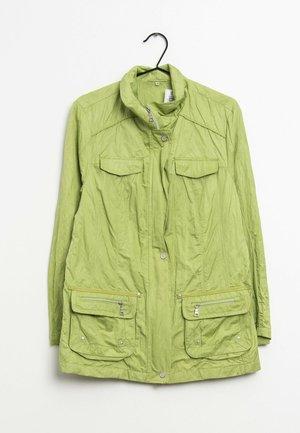 Veste mi-saison - green