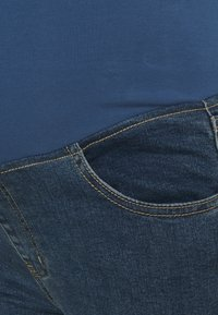 Cotton On - MATERNITY CROPPED SKINNY JEAN OVER BELLY - Jeans Skinny Fit - southside blue - 2