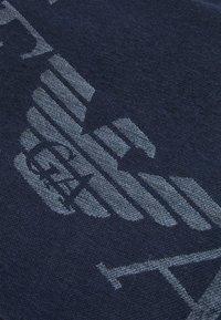 Emporio Armani - UNISEX - Scarf - blue navy/navy blue - 3