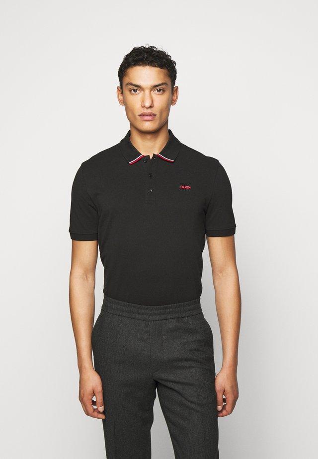 DARUSO - Poloshirts - black