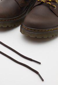 Dr. Martens - 1460 COLLAR REPUBLIC WP - Lace-up ankle boots - dark brown - 5