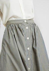 Kings Of Indigo - BENTEN - A-snit nederdel/ A-formede nederdele - grey/beige - 4