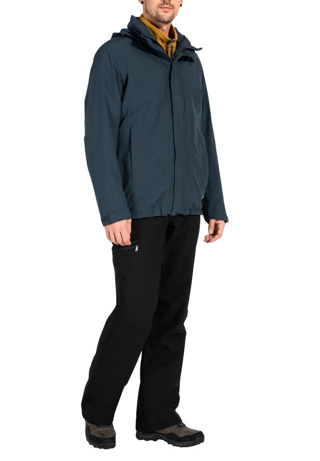 Hardshell jacket - steelblue