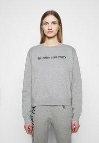 Pinko - ALGEBRA MAGLIA - Sweatshirt - grey - 0