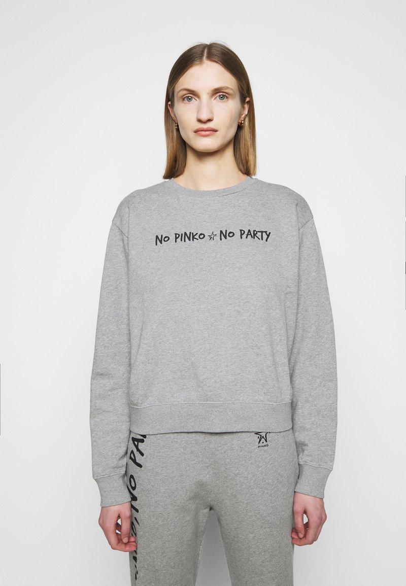 Pinko - ALGEBRA MAGLIA - Sweatshirt - grey