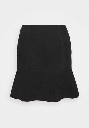 YASCOLLY SKIRT  - Mini skirt - black