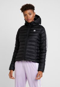 adidas Originals - SLIM JACKET - Chaqueta de entretiempo - black - 0