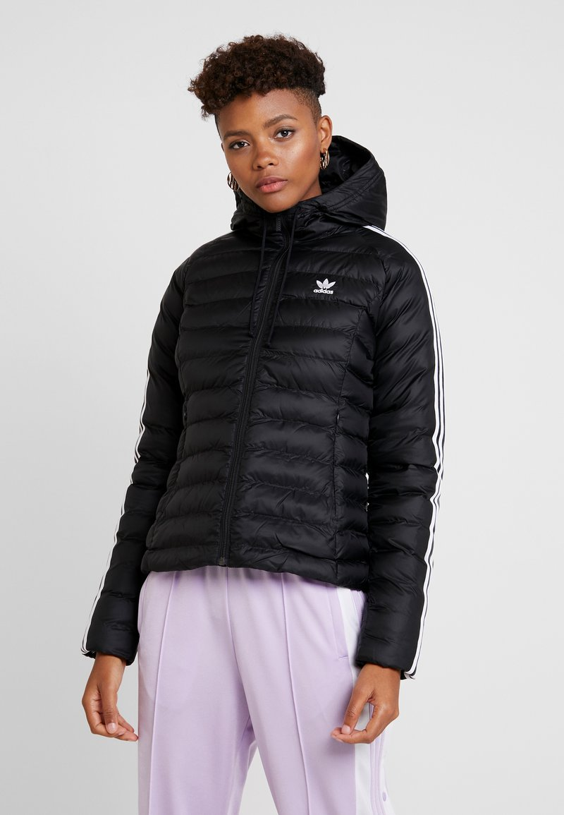 adidas Originals - SLIM JACKET - Välikausitakki - black
