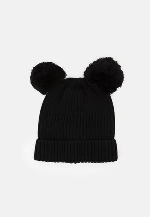 EAR HAT UNISEX - Gorro - black