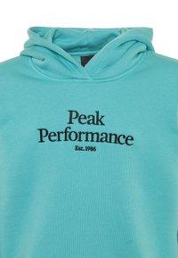 Peak Performance - ORIGINAL HOOD - Hoodie - tonic sky - 2