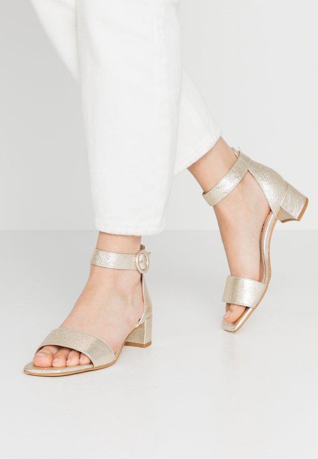 Sandals - rock