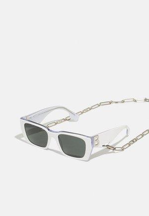 Sunglasses - white/transparent