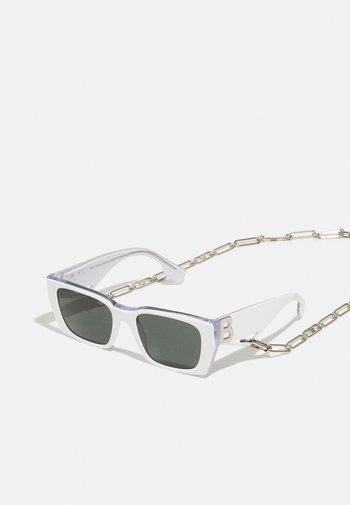 Occhiali da sole - white/transparent