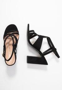 New Look - SWIRLEY  - Sandály na vysokém podpatku - black - 3