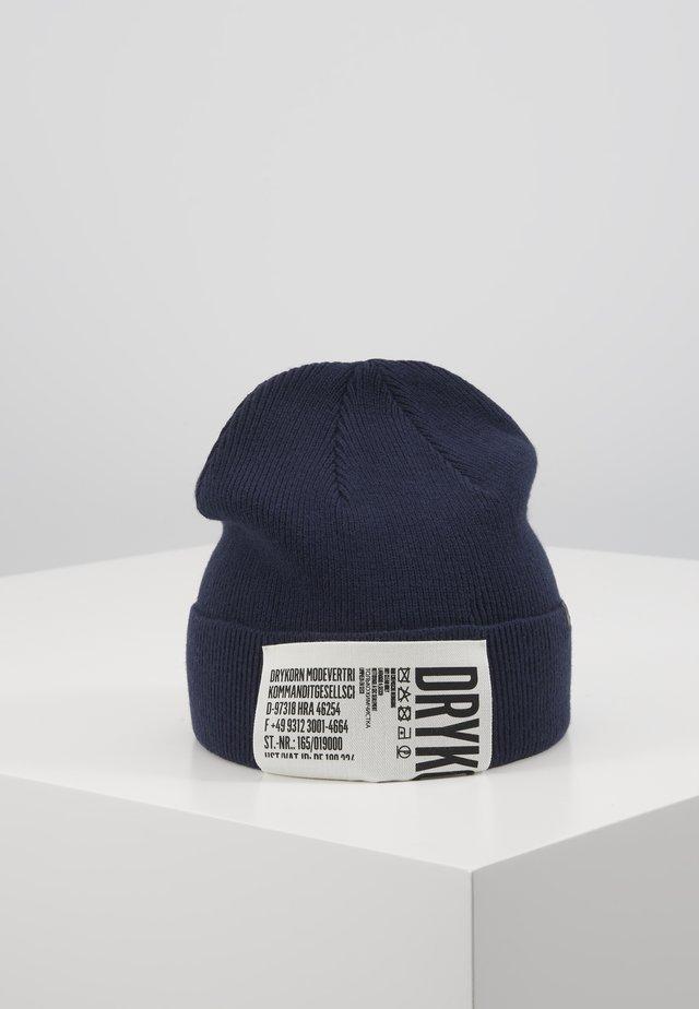 STOLLET - Bonnet - dark blue