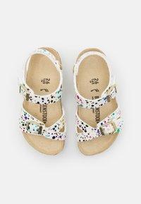 Birkenstock - RIO KIDS CONFETTI POP - Sandals - white - 3