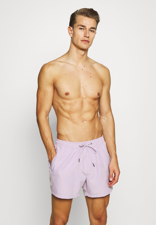 HESTER SWIM - Swimming shorts - purple
