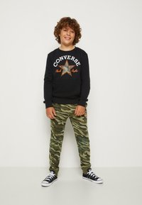Converse - CAMO KNEE PATCH - Pantaloni sportivi - multi-coloured - 3