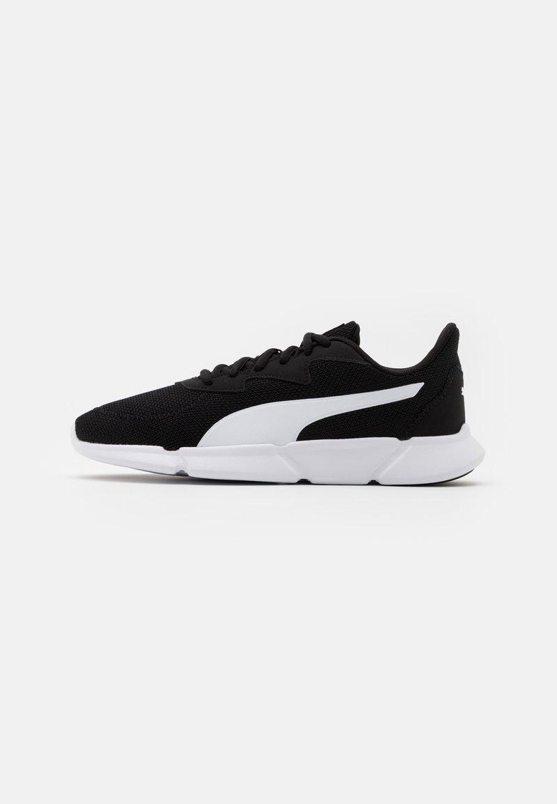 Puma - INTERFLEX RUNNER UNISEX - Sports shoes - black/white