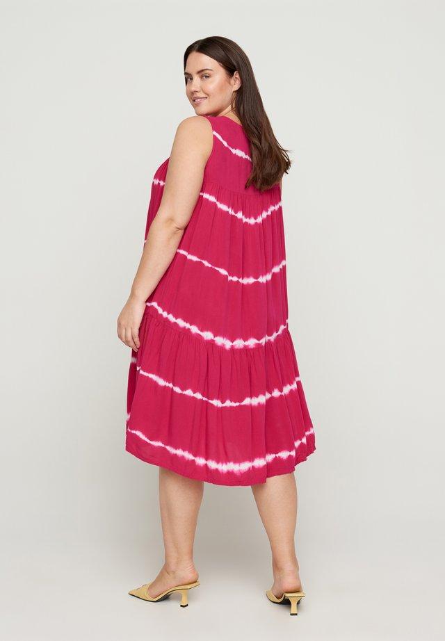 Korte jurk - vivacious batik