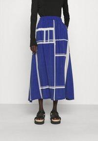 Libertine-Libertine - BOX - A-line skirt - limouges blue - 0