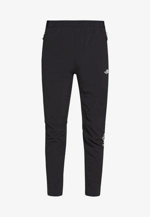 MENS VARUNA PANT - Spodnie materiałowe - black