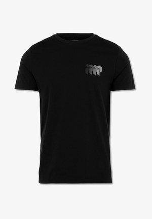 GROUND TEE - T-shirts print - grey logo