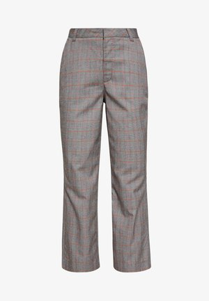 THE CROPPED TROUSER - Trousers - grey