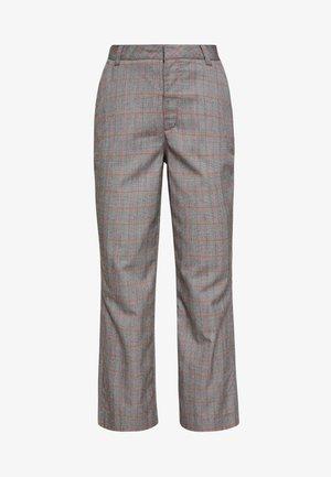 THE CROPPED TROUSER - Pantalon classique - grey