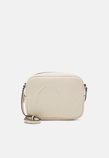 LARGE CAMERA BAG - Across body bag - muslin